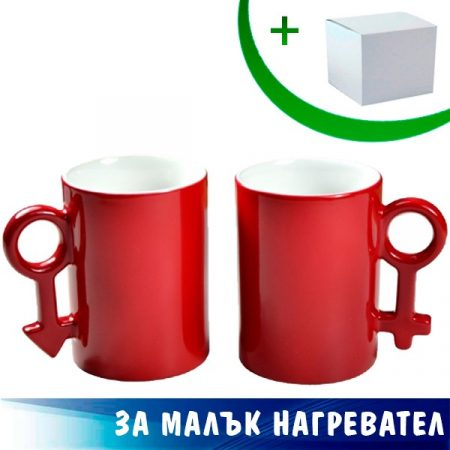 10oz Couple Color Changing Mugs (Red)