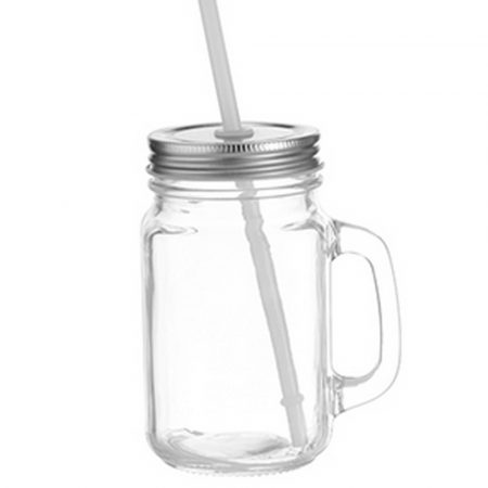 12 oz Mason Jar (Clear)