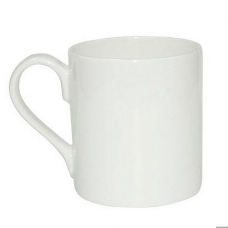 Бяла чаша - малка (8oz)