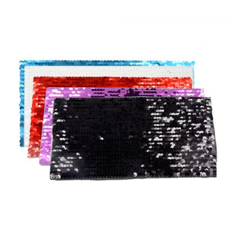 Самозалепващ текстил - ПРАВОЪГЪЛНИК - 19.5 x 10 см (пайети)