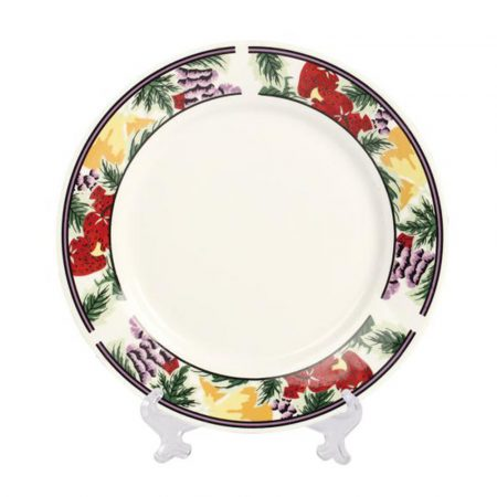 Plate for sublimation 20 cm - with ornaments