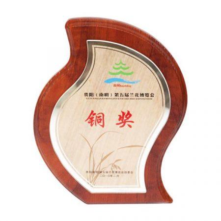 Water drop medal