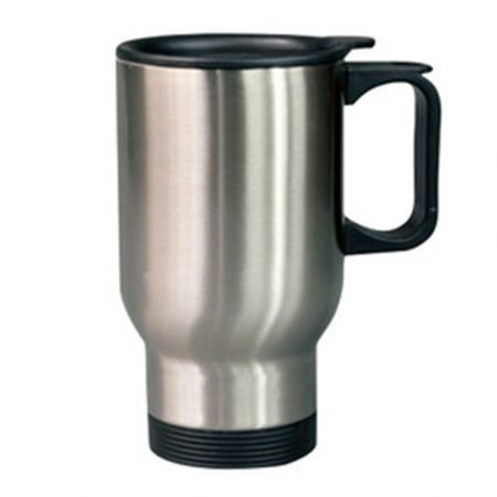 500 ml Car Mug (silver)
