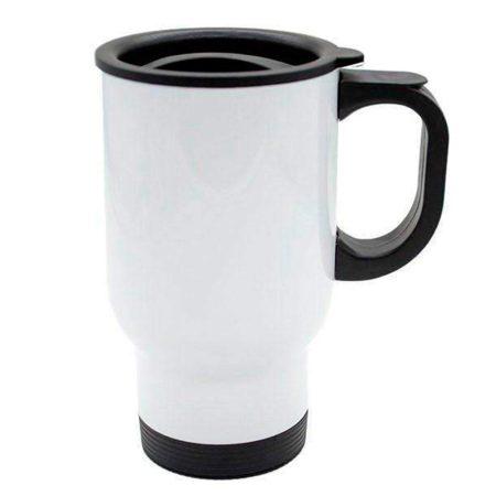 Термо чаша (бяла)