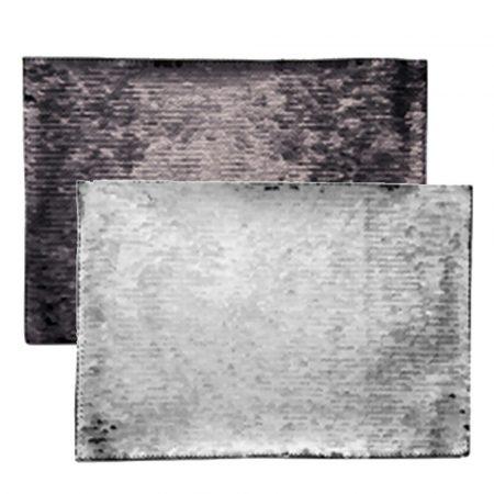 Самозалепващ текстил - ПРАВОЪГЪЛНИК - 21 x 28 см (пайети)