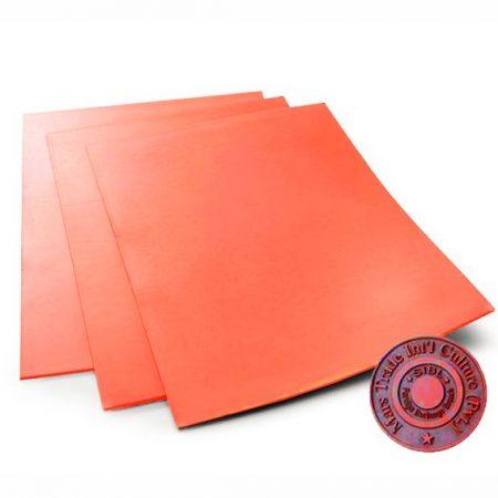 1.7 mm. A4 - Orange rubber