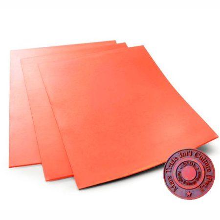 Оранжева гума за гравиране А4 (2.3 мм)