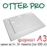 A4 Otter Pro sublimation paper A3 (100 sheets)
